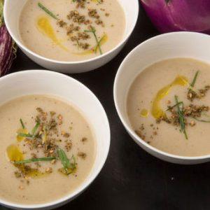 köz patlıcan çorbası