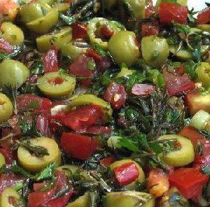 zahter salatası tarifi