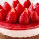 çilekli cheesecake nasıl yapılır