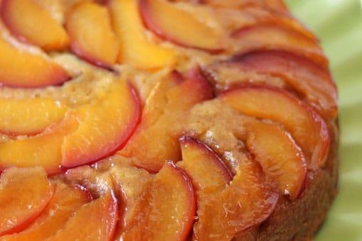 nektarinli kek tarifi