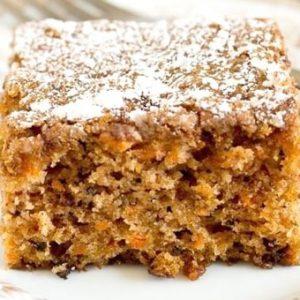 havuçlu cevizli üzümlü kek