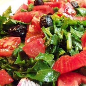 roka tere salatası