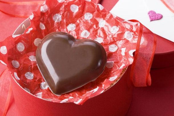 kalpli çikolata yapımı