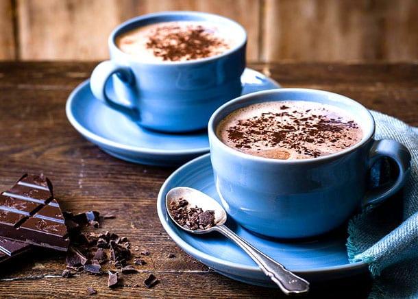 hakiki sıcak çikolata yapımı