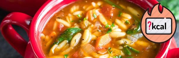 çorba kalori cetveli
