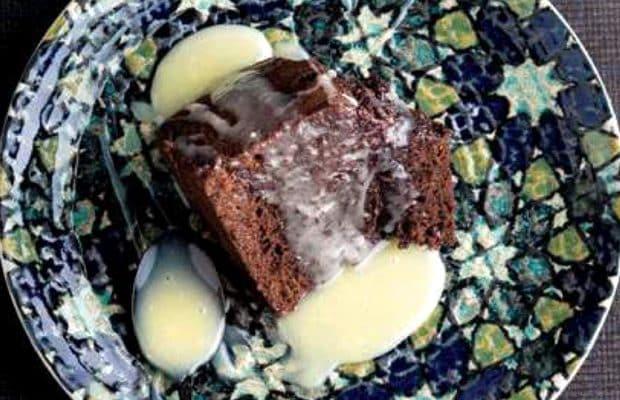 çaylı kek yapımı