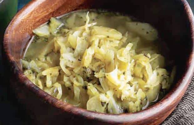 lahana detoks çorbası